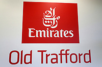 General view of Old Trafford signage during Lancashire CCC vs Essex CCC, Specsavers County Championship Division 1 Cricket at Emirates Old Trafford on 6th September 2017