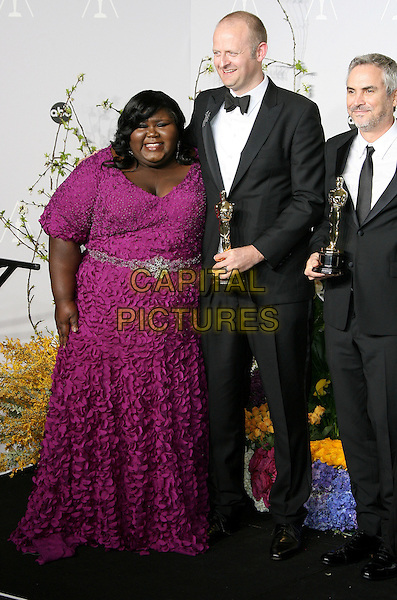 02 March 2014 - Hollywood, California - Gabourey Sidibe, Mark Sanger. 86th Annual Academy Awards held at the Dolby Theatre at Hollywood &amp; Highland Center. <br /> CAP/ADM<br /> &copy;AdMedia/Capital Pictures