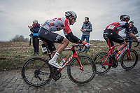 Lawrence Naesen (BEL/Lotto Soudal) <br /> <br /> 71st Kuurne-Brussel-Kuurne (2019)<br /> Kuurne > Kuurne 201km (BEL)<br /> <br /> ©kramon