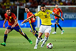 James Rodriguez of Colombia during the friendly match between Spain and Colombia at Nueva Condomina Stadium in Murcia, jun 07, 2017. Spain. (ALTERPHOTOS/Rodrigo Jimenez)