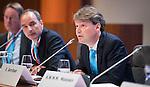 UTRECHT _ Algemene Ledenvergadering Utrecht, van de KNHB.  KNHB directeur Erik Gerritsen.   COPYRIGHT KOEN SUYK