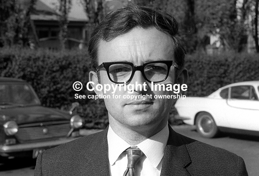John Quinn, candidate, Liberal Party, South Down, UK General Election, June, 1970, 197006000219<br />