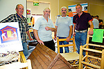 Henry McEnery, John O'Halloran, Sonny Foran, James Meehan at the Kerry ETB  Education, Training and Opportunities fair  at the Brandon Hotel on Thursday