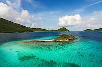 Leinster Bay and Waterlemon Cay<br />