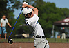 Kevin McGloin of Poly Prep (Brooklyn, NY) tees off on the 1st Hole of Bethpage State Park's Black Course during the New York State Federation Golf Tournament on Sunday, June 7, 2015.<br /> <br /> James Escher