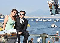 Murales nel centro Storico  di Napoli per dare il benvenuto a Dolce  Gabbana ed alle loro Muse in occasione della festa del trentennale della maison .<br /> Sofia Loren, Nicole Kidmann, Monica Bellucci, Veronica Mazza, Naomi Campbell