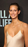 """Jeanne Cadieu attends the Broadway Opening Night performance of """"Sea Wall / A Life"""" at the Hudson Theatre on August 08, 2019 in New York City."""