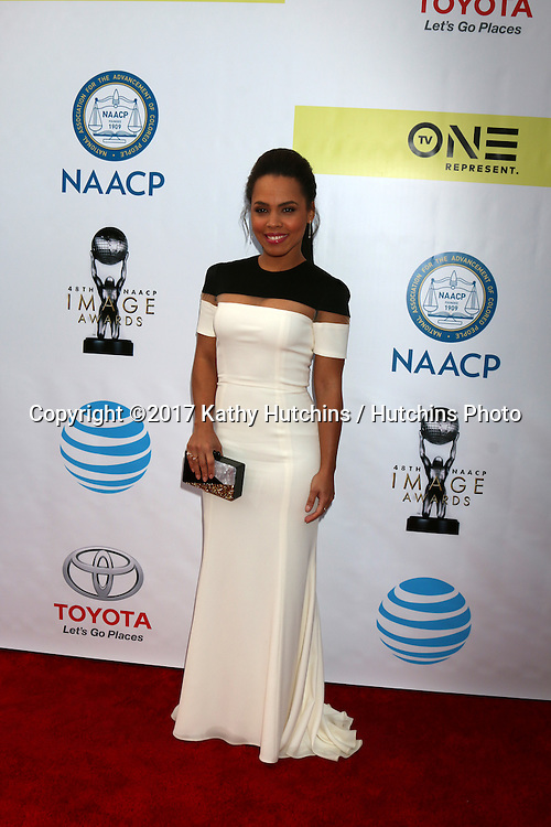 LOS ANGELES - FEB 11:  Amirah Vann at the 48th NAACP Image Awards Arrivals at Pasadena Conference Center on February 11, 2017 in Pasadena, CA