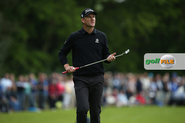 Robert Karlsson (SWE) lost ground on the leaders during Round Three of the 2015 BMW PGA Championship over the West Course at Wentworth, Virginia Water, London. 23/05/2015. Picture David Lloyd | www.golffile.ie.