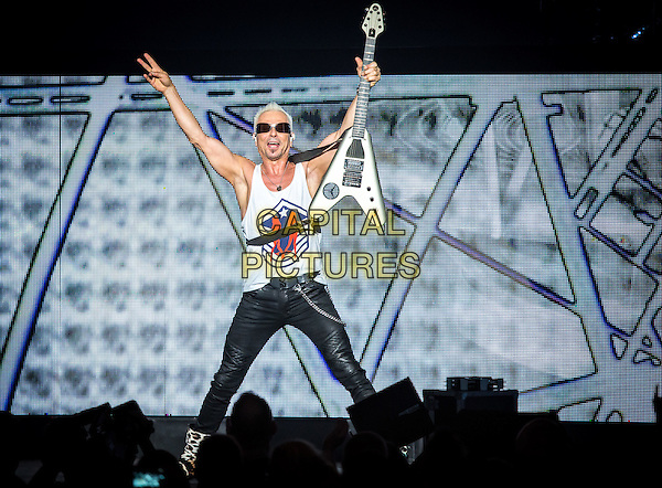 LAS VEGAS, NV - May 13, 2016: ***HOUSE COVERAGE*** Scorpions at The The Joint at Hard Rock Hotel &amp; Casino in Las vegas, NV on May 13, 2016. <br /> CAP/MPI/EKP<br /> &copy;EKP/MPI/Capital Pictures