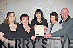 Residents from Torc Terrace who was honoured at the Killarney Looking Good annual awards in the Dromhall Hotel on Thursday night front row l-r: Suzanne Moloney, Antionette O'Shea, Janet Moloney, Mary Fell and Pat O'Sheay