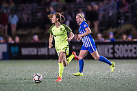 Boston, MA - Saturday April 29, 2017: Rumi Utsugi during a regular season National Women's Soccer League (NWSL) match between the Boston Breakers and Seattle Reign FC at Jordan Field.
