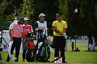 Jon Rahm (ESP) Patrick Reed (USA) during the second round of The Tour Championship, East Lake Golf Club, Atlanta, Georgia, USA. 23/08/2019.<br /> Picture Ken Murray / Golffile.ie<br /> <br /> All photo usage must carry mandatory copyright credit (© Golffile | Ken Murray)