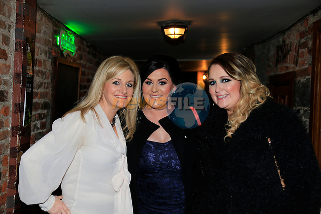 Olivia Carroll Rebecca oboyle Karen Clinton<br /> out on the town<br /> Picture Fran Caffrey / Newsfile