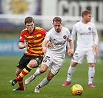 13.10.2018 Partick Thistle v Dundee Utd: Billy King and Blair Spittal