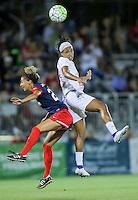 Boyds, MD - Saturday Sept. 03, 2016: Estelle Johnson, Jessica McDonald during a regular season National Women's Soccer League (NWSL) match between the Washington Spirit and the Western New York Flash at Maureen Hendricks Field, Maryland SoccerPlex.