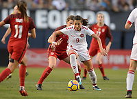 San Diego, Ca - Sunday, January 21, 2018: Nadia Nadim  during a USWNT 5-1 victory over Denmark at SDCCU Stadium.
