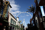 High Roller Wheel in Las Vegas Nevada March 26, 2014.