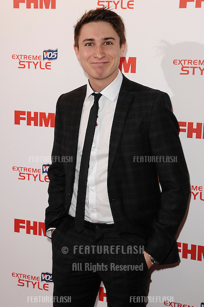 Tom Rosenthal arriving for the FHM 100 Sexiest Women in the World 2013 party at the Sanderson Hotel, London. 01/05/2013 Picture by: Steve Vas / Featueflash