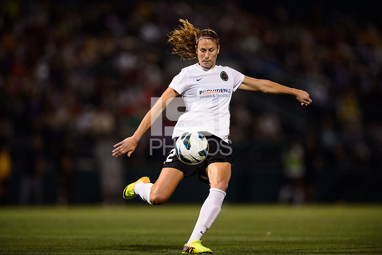 Portland Thorns defender Marian Dougherty (2). The Portland Thorns defeated the Western New York Flash 2-0 during the National Women's Soccer League (NWSL) finals at Sahlen's Stadium in Rochester, NY, on August 31, 2013.