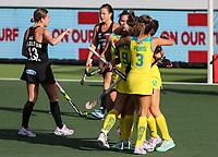 Pro League Hockey, Vantage Blacksticks Women v Australia, ANZAC Hockey test. North Harbour Hockey Stadium, Auckland, New Zealand. Thursday 25 April 2019. Photo: Simon Watts/Hockey NZ