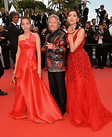 Blanca Blanco, John Savage &amp; Letizia Pinochi at the gala screening for &quot;Wild Pear Tree&quot; at the 71st Festival de Cannes, Cannes, France 18 May 2018<br /> Picture: Paul Smith/Featureflash/SilverHub 0208 004 5359 sales@silverhubmedia.com