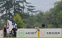 Thomas Detry (BEL) on the 5th tee during Round 3 of the D+D Real Czech Masters at the Albatross Golf Resort, Prague, Czech Rep. 02/09/2017<br /> Picture: Golffile | Thos Caffrey<br /> <br /> <br /> All photo usage must carry mandatory copyright credit     (&copy; Golffile | Thos Caffrey)