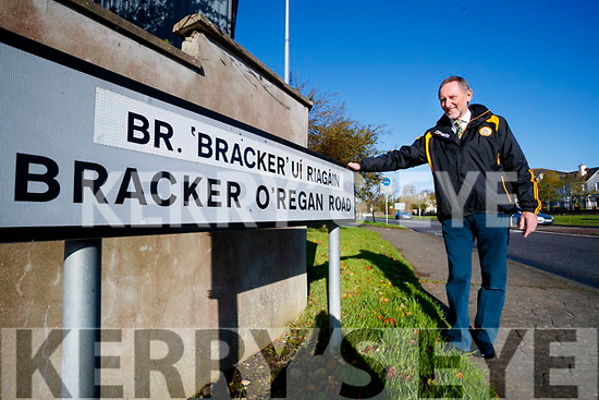 Billy Ryle calling for the name of Bracker O'Regan road to no longer be caller a the Fat Mile.