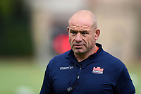 Edinburgh Rugby Head Coach Richard Cockerill looks on. Pre-season friendly match, between Edinburgh Rugby and Bath Rugby on August 17, 2018 at Meggetland Sports Complex in Edinburgh, Scotland. Photo by: Patrick Khachfe / Onside Images