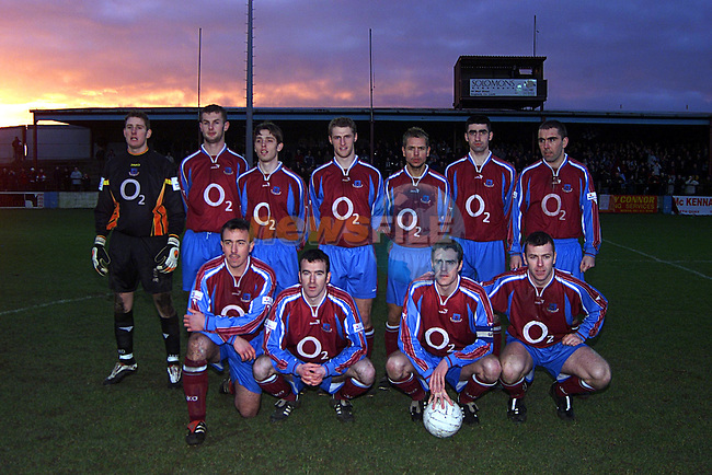 Drogheda United...Pic Tony Campbell Newsfile
