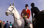 Fox hunting with hounds the Heythrop Hunt England 1991,