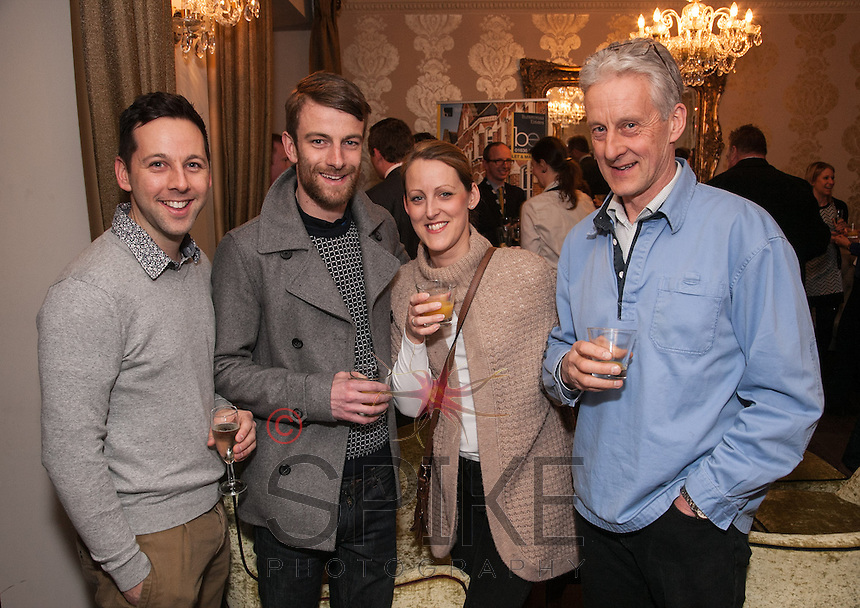 All smiles from left are Adam Rockley, Stephen Pears, Claire Oglesby nd Martin Oglesby