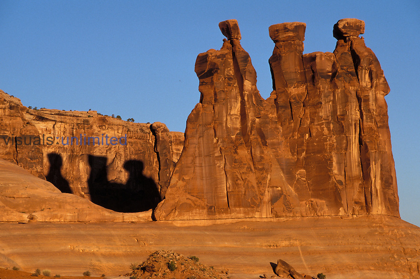 The Gossips, Entrada formation Arches National Park, Utah