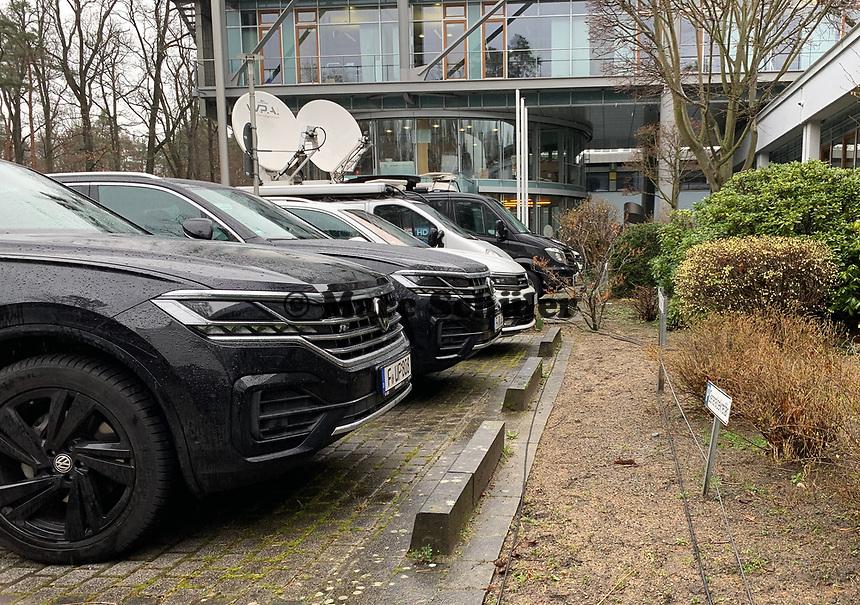 Volkswagen liefert als neuer DFB-Partner schon die Fahrzeuge des DFB - 15.03.2019: Pressekonferenz der Deutschen Nationalmannschaft, DFB Zentrale Frankfurt