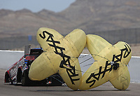 Apr. 7, 2013; Las Vegas, NV, USA: NHRA funny car driver Courtney Force during the Summitracing.com Nationals at the Strip at Las Vegas Motor Speedway. Mandatory Credit: Mark J. Rebilas-