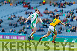 Jack Barry, Na Gaeil in action against /Eoin Porter, Rathgarogue-Cushingstown during the AIB GAA Football All-Ireland Junior Club Championship Final match between Na Gaeil and Rathgarogue-Cushinstown at Croke Park on Saturday.