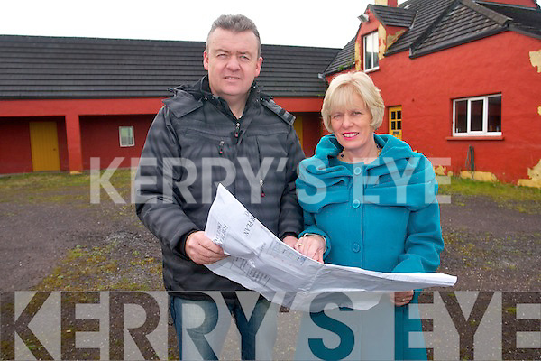 Plans have been drawn up for a residential centre for adults with autism  in Tralee and it is hoped that work will begin on the project next year. .Pictured are Patricia and Jim Adams whose son will live at the centre when completed.