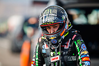 Feb 23, 2018; Chandler, AZ, USA; NHRA top fuel driver Brittany Force during qualifying for the Arizona Nationals at Wild Horse Pass Motorsports Park. Mandatory Credit: Mark J. Rebilas-USA TODAY Sports