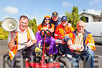 Michael Kelliher, Shane O'Connor, Christy Kelliher, Sabrina Quaill and Jimmy Cahill pictured last Friday evening ahead of the Kiddies Motor Parade for this years Gather By The Feale Summer Festival.