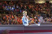 Los Angeles, CA - August 14, 2000 -- First lady Hillary Rodham Clinton, a candidate for the United States Senate from the State of New York, speaks on the opening night of the 2000 Democratic National Convention in Los Angeles, California, Monday, August 14, 2000..Credit: Ron Sachs / CNP
