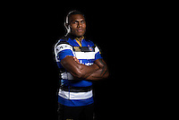 Semesa Rokoduguni poses for a portrait at a Bath Rugby photocall. Bath Rugby Media Day on August 24, 2016 at Farleigh House in Bath, England. Photo by: Rogan Thomson / JMP / Onside Images