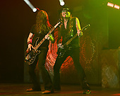 HOLLYWOOD FL - APRIL 25: Michael Devin and Reb Beach of Whitesnake perform at the Hard Rock Events Center held at the Seminole Hard Rock Hotel & Casino on April 25, 2019 in Hollywood, Florida. : Credit Larry Marano © 2019