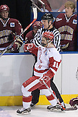 (Mike Brennan, Tim Filangieri, Joe Pearce) Ryan MacMurchy - The University of Wisconsin Badgers defeated the Boston College Eagles 2-1 on Saturday, April 8, 2006, at the Bradley Center in Milwaukee, Wisconsin in the 2006 Frozen Four Final to take the national Title.