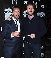NEW YORK, NY February 07, 2018:Danny A. Abeckaser, Scott Eastwood attend the New York premere of First We Take Brooklyn hosted by 28 Flims and Danny A. Abeckaser at Regal Battery Park in New York. February 07, 2018. <br /> CAP/MPI/RW<br /> &copy;RW/MPI/Capital Pictures