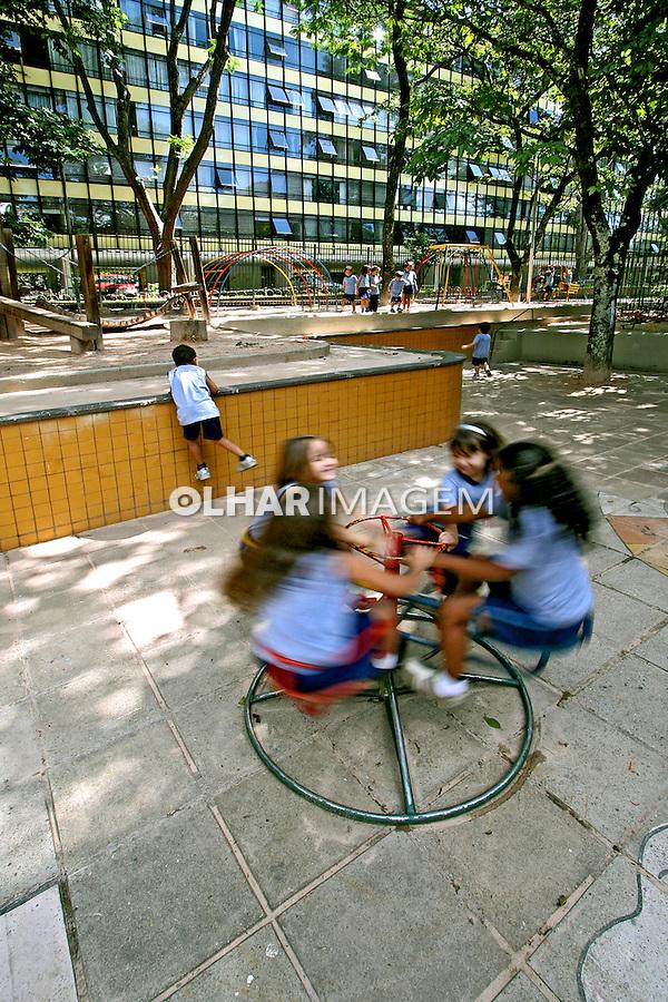 Alunos em escola pública de Brasília. 2006. Foto de Juan Pratginestós.