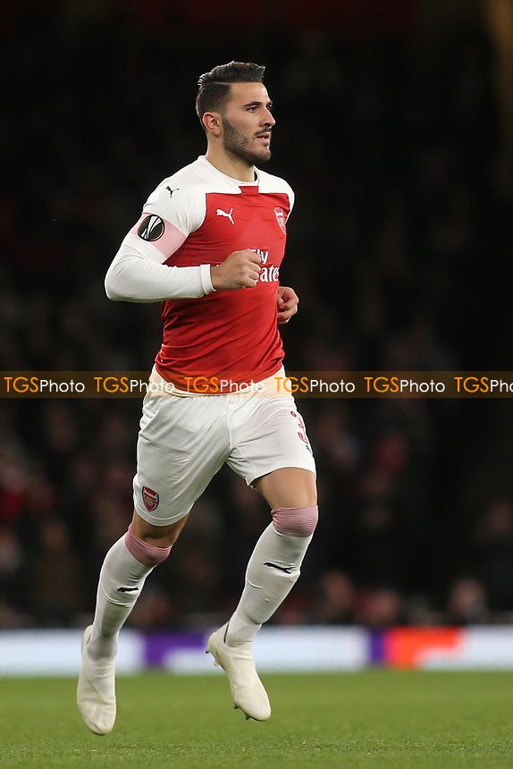 Sead Kolasinac of Arsenal during Arsenal vs Sporting Lisbon, UEFA Europa League Football at the Emirates Stadium on 8th November 2018