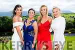 Enjoying the Colaiste na Sceilge Debutante Ball at Ballyroe Heights Hotel on Tuesday were l-r  Fiona Keating, Tara Sullivan, Emer Kissane and Rachel O'Connel