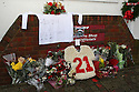 Tributes to former Stevenage player Mitchell Cole who passed away on 1st December . Stevenage v Crawley Town - npower League 1 -  Lamex Stadium, Stevenage - 15th December, 2012. © Kevin Coleman 2012..