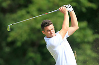 Keith Fitzpatrick (Kinsale) on the 4th tee during the AIG Barton Shield Munster Final 2018 at Thurles Golf Club, Thurles, Co. Tipperary on Sunday 19th August 2018.<br /> Picture:  Thos Caffrey / www.golffile.ie<br /> <br /> All photo usage must carry mandatory copyright credit (&copy; Golffile | Thos Caffrey)