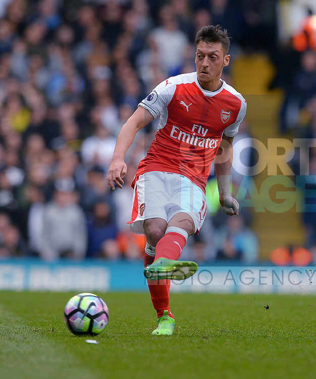 Mesut Ozil of Arsenal during the English Premier League match at the White Hart Lane Stadium, London. Picture date: April 30th, 2017.Pic credit should read: Robin Parker/Sportimage